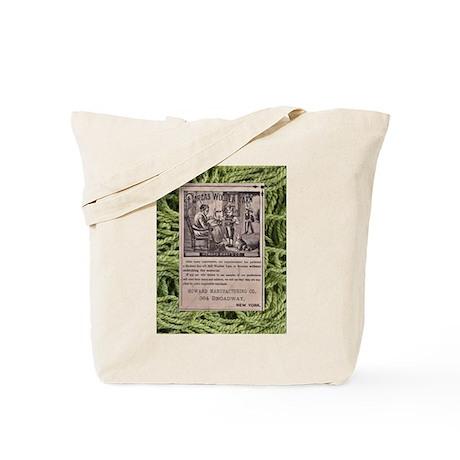 Victorian Woolen Yarn Ad Tote Bag