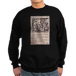Victorian Woolen Yarn Ad Sweatshirt (dark)