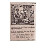 Victorian Woolen Yarn Ad Postcards (Package of 8)