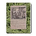 Victorian Woolen Yarn Ad Mousepad