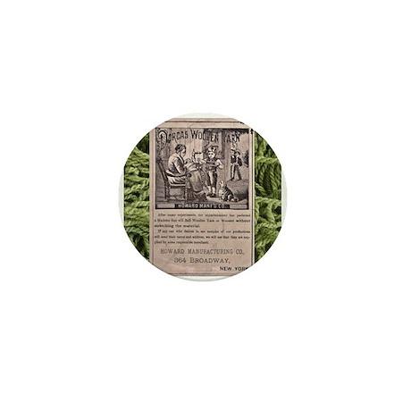 Victorian Woolen Yarn Ad Mini Button (10 pack)
