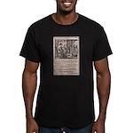 Victorian Woolen Yarn Ad Men's Fitted T-Shirt (dar
