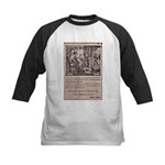 Victorian Woolen Yarn Ad Kids Baseball Jersey