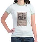 Victorian Woolen Yarn Ad Jr. Ringer T-Shirt