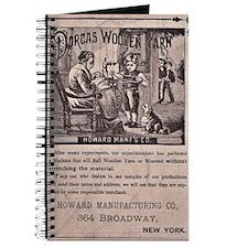 Victorian Woolen Yarn Ad Journal