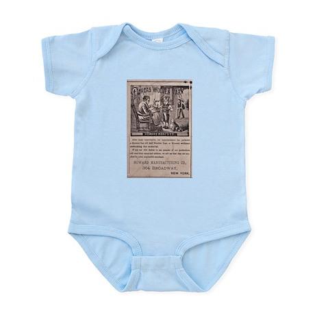Victorian Woolen Yarn Ad Infant Bodysuit