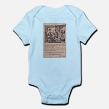Victorian Woolen Yarn Ad Infant Bodysuit