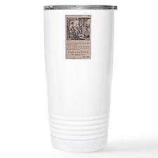 Victorian Woolen Yarn Ad Travel Mug