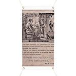 Victorian Woolen Yarn Ad Banner