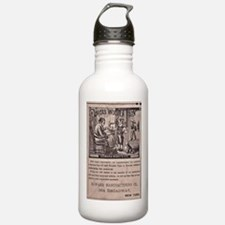 Victorian Woolen Yarn Ad Water Bottle