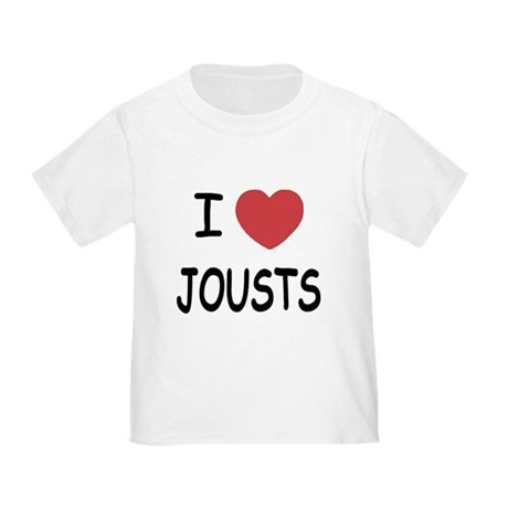 I heart jousts Toddler T-Shirt