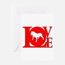 Alapaha Blue Blood Bulldog Greeting Cards (Package