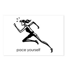 pace yourself Postcards (Package of 8)