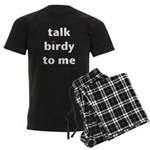 Talk Birdy to Me Men's Dark Pajamas