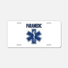 Paramedic EMS Aluminum License Plate
