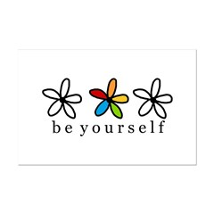 be yourself Posters