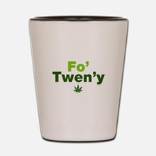 Fo' Twen'y Shot Glass