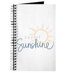 Ray of Sunshine (blue) Journal
