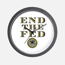 End the Fed Occupy Wall Street Protests Wall Clock