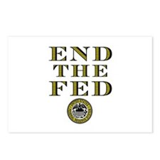 End the Fed Occupy Wall Street Protests Postcards