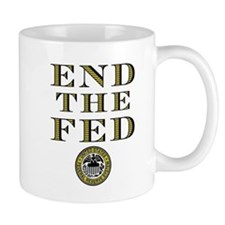 End the Fed Occupy Wall Street Protests Mug