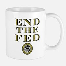 End the Fed Occupy Wall Street Protests Small Small Mug