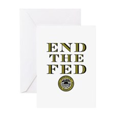 End the Fed Occupy Wall Street Protests Greeting C