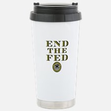 End the Fed Occupy Wall Street Protests Stainless