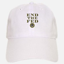 End the Fed Occupy Wall Street Protests Baseball Baseball Cap