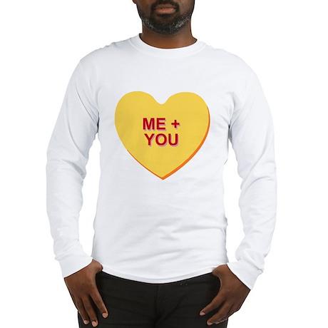 conversation heart - me and yo Long Sleeve T-Shirt