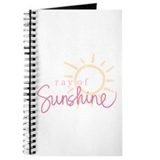 Ray of Sunshine (pink) Journal