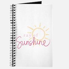 Ray of Sunshine (pink) Journal