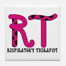 Respiratory Therapists XX Tile Coaster