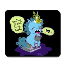 Reading Unicorn Mousepad