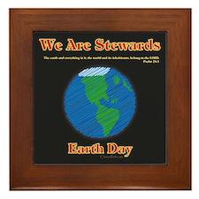 Earth Day Stewards Framed Tile
