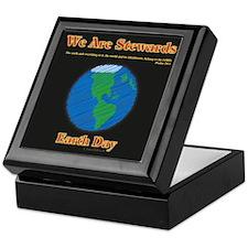 Earth Day Stewards Keepsake Box