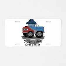 Hatwheel Aluminum License Plate