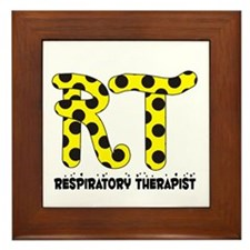 Respiratory Therapists XX Framed Tile