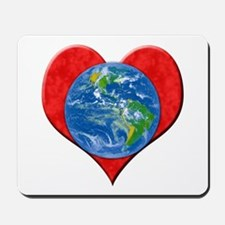 """Earth Day: Love the Earth!"" Mousepad"
