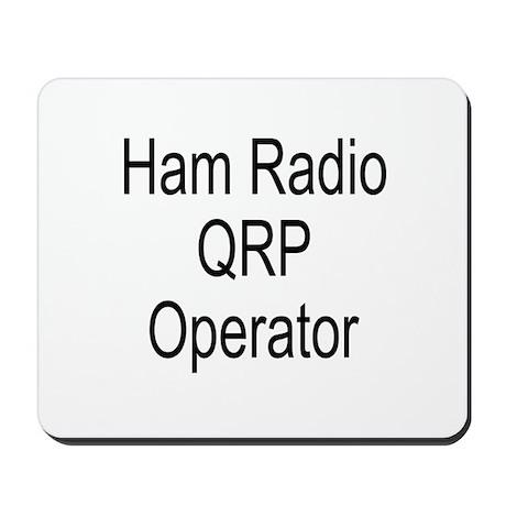 Ham Radio QRP Operator Mousepad