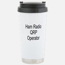 Ham Radio QRP Operator Stainless Steel Travel Mug