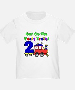 Party Train Two Year Old T