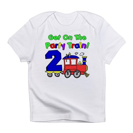 Party Train Two Year Old Infant T-Shirt