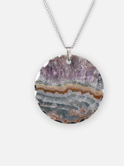 Amethyst Crystals Necklace