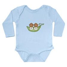 Twins Long Sleeve Infant Bodysuit