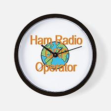 Ham Radio QRP Operator Wall Clock