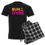 Bun in the Oven Men's Dark Pajamas