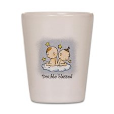 Double Blessed Shot Glass