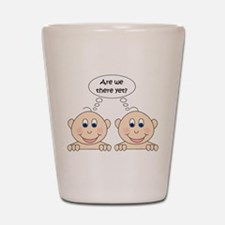 Are we there yet? Twins Shot Glass