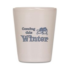 Coming this Winter Shot Glass